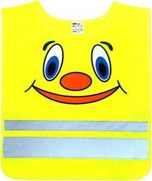 Kamizelka ostrzegawcza z certyfikatem, dla dzieci 4-6 lat uniwersalny