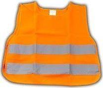 Automax Kamizelka ostrzegawcza z certyfikatem, dziecięca - pomarańczowa uniwersalny