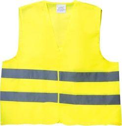 Automax Kamizelka ostrzegawcza z certyfikatem, M/XXL Professional - żółta uniwersalny