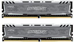 Pamięć Ballistix Ballistix Sport LT, DDR4, 16GB,2400MHz, CL16 (BLS2C8G4D240FSB)