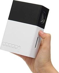Projektor Rzutnik LED Przenośny mini Projektor YG300 FullHD HDMI USB - Czarny