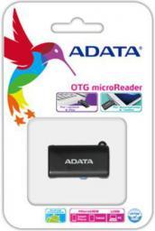 Czytnik ADATA USB OTG, Microsd   Czarny (AOTGMRBK)