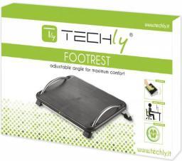 Techly Podnóżek ergonomiczny z regulacją kąta pochylenia, czarny  (305564)