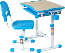 FunDesk Biurko dziecięce Fun Desk Piccolino niebieskie