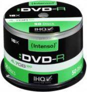 Intenso DVD-R, 4.7GB, X16, 50 Sztuk, Cake (4101155)