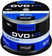 Intenso DVD+R, 4.7GB, X16, 50 Sztuk, Cake (4111155)
