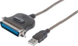 Kabel USB Manhattan Konwerter USB na port równoległy LPT Centronics 36  (317016)