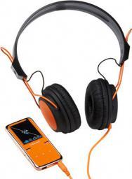 Odtwarzacz MP4 Intenso Scooter 8GB, Słuchawki, Pomarańczowy (3717765)