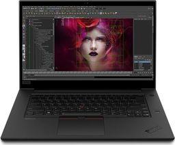Laptop Lenovo Mobilna stacja robocza ThinkPad P1 Gen 3 20TH0011PB W10Pro i7-10875H/32GB/1TB/T1000 4GB/15.6 UHD/3YRS Premier Support