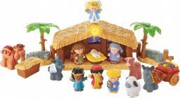 Fisher Price Figurki Little People Szopka bożonarodzeniowa (J2404)