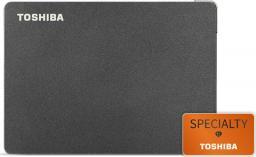 Dysk zewnętrzny Toshiba HDD Canvio Slim 1 TB Czarny (HDTD310EK3DA)