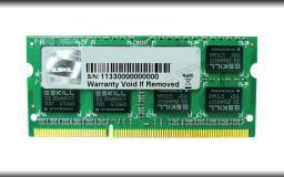 Pamięć do laptopa G.Skill DDR3 SO-DIMM 4GB 1066-777 SQ (F3-8500CL7S-4GBSQ)