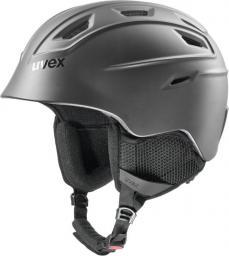 UVEX Kask narciarski Fierce black matt r. 55-59