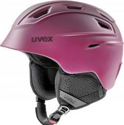 UVEX Kask narciarski Fierce berry matt r. 51-55