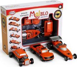 Malblo Magnetic Pojazdy wyścigowe 3+ Malblo