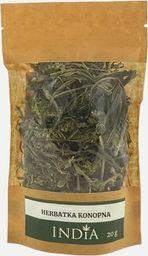 India Cosmetics Herbatka konopna 20g - CBD występuje naturalnie w roślinie - INDIA COSMETICS