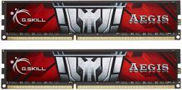 Pamięć G.Skill Aegis, DDR3, 8 GB,1600MHz, CL11 (F3-1600C11D-8GIS)
