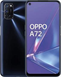 Smartfon Oppo A72 128 GB Dual SIM Czarny  (69442846627350)