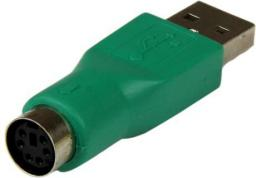 Adapter USB StarTech USB-PS/2 Zielony (GC46MF)