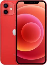Smartfon Apple iPhone 12 256GB Dual SIM Czerwony (MGJJ3)