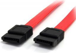 StarTech Kabel Sata, 0.6m, czerwony (SATA24)