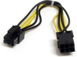 StarTech Przedłużacz kabla zasilającego PCI-E 6 pin, 20cm (PCIEPOWEXT)