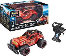 Revell Revell Control 24474 RC Car RED Scorpion, z akumulatorem litowo-jonowym, samochód zdalnie sterowany, czerwony