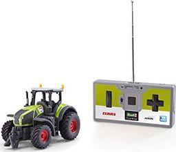 Revell Revell Control 23488 Mini traktor RC Claas Axion 960, pilot 40 MHz z funkcją ładowania, samochód zdalnie sterowany, zielony