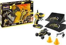 Revell Revell Control 24448 Flic Flac Stunt Racer Zestaw zdalnie sterowany samochód, czarno-żółty