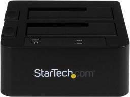 """Stacja dokująca dla dysku twardego StarTech Baza dokująca na dwa dyski, 2,5""""/3,5"""" (SDOCK2U33EB)"""