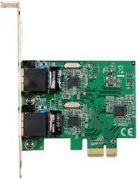 Karta sieciowa StarTech 2 porty Gigabit Ethernet (RJ45) (ST1000SPEXD4)