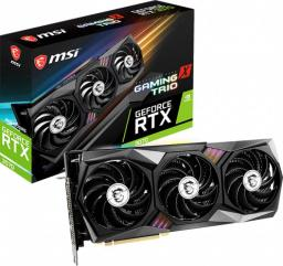 Karta graficzna MSI GeForce RTX 3070 Gaming X Trio 8GB GDDR6 (RTX 3070 GAMING X TRIO)