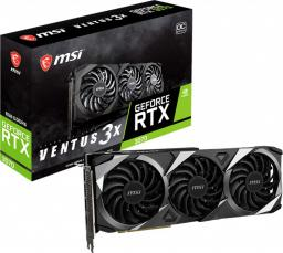Karta graficzna MSI GeForce RTX 3070 Ventus 3X OC 8GB GDDR6 (RTX 3070 VENTUS 3X OC)