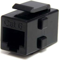 StarTech Przejściówka CAT 6 Czarny (C6KEYCOUPLER)