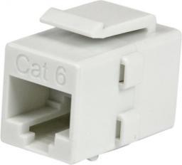 StarTech Przejściówka CAT 6 Biały (C6KEYCOUPLWH)