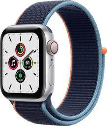 Smartwatch Apple Watch SE GPS + Cellular 40mm Silver Alu Navy Niebieski