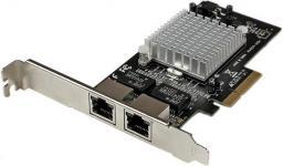 Karta sieciowa StarTech PCI Express 2 porty RJ45 (ST2000SPEXI)