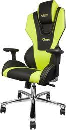Fotel SELSEY E-Blue Mazer czarno-zielony