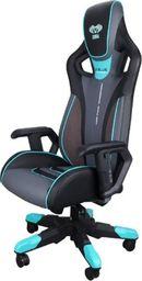Fotel SELSEY E-Blue Cobra 3 czarno-niebieski