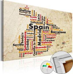 SELSEY Tablica korkowa Hiszpańskie miasta (ES)