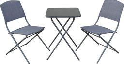 Selsey Zestaw ogrodowy Dolore stół z dwoma krzesłami