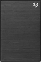 Dysk zewnętrzny Seagate HDD One Touch Slim 1 TB Czarny (STKB1000400)