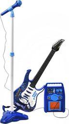 ISO Gitara elektryczna + mikrofon + wzmacniacz nieb uniwersalny