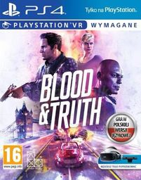 Blood and Truth - Wersja pudełkowa PS4