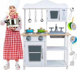 VimToys Duża drewniana kuchnia dla dzieci + akcesoria kuchenne
