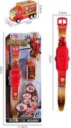 Pan i Pani Gadżet Zegarek Dziecięcy z Projektorem Avengers