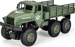 Pan i Pani Gadżet Ciężarówka wojskowa RC transporter-7