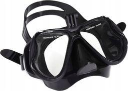 Pan i Pani Gadżet Maska do nurkowania pół-pełna z Uchwytem