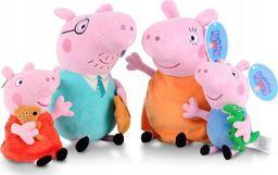 Pan i Pani Gadżet Świnka Peppa maskotki zestaw cała rodzina