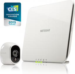 Kamera IP NETGEAR ARLO 1x HD Camera WiFi + Smart Home Base Day/Night In/0utdoor (VMS3130-100EUS)